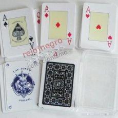Barajas de cartas: BARAJA DE PÓQUER - VARITEMAS SL - NAIPES - JUGUETE - CARTAS DE PÓKER - CAJA DE PLÁSTICO. Lote 60729575
