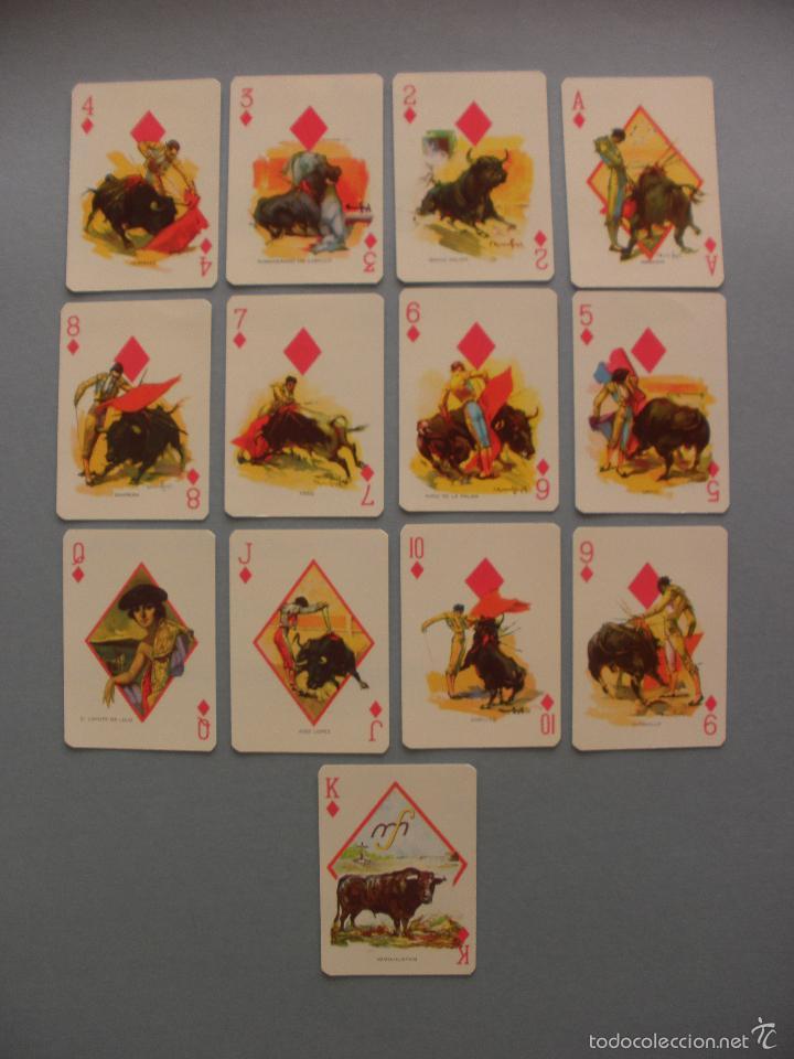Barajas de cartas: BARAJA NAIPES TAURINA RUANO LLOPIS, CLEMENTE JACQUES, MEXICO 1940 - Foto 6 - 118221996