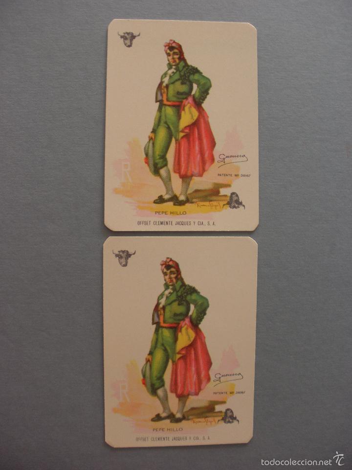 Barajas de cartas: BARAJA NAIPES TAURINA RUANO LLOPIS, CLEMENTE JACQUES, MEXICO 1940 - Foto 7 - 118221996