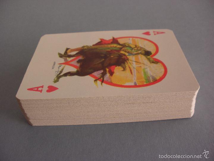 Barajas de cartas: BARAJA NAIPES TAURINA RUANO LLOPIS, CLEMENTE JACQUES, MEXICO 1940 - Foto 9 - 118221996