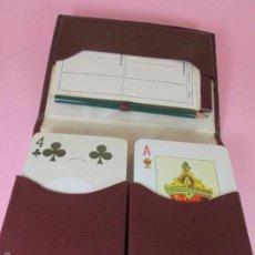 Barajas de cartas: ANTIGUO ESTUCHE-2 JUEGOS CARTAS/BARAJAS-ESPAÑA-HERACLIO FOURNIER-Nº20(CLÁSICA)-PÓKER PRECINTADA-NOS. Lote 61076267