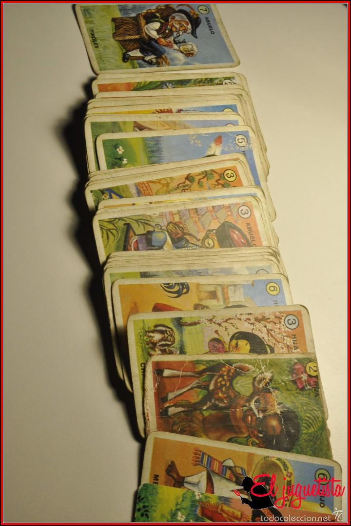 Barajas de cartas: BARAJAS INFANTILES - FOURNIER 1979 - FAMILAS DE 7 PAISES - Foto 2 - 61149667