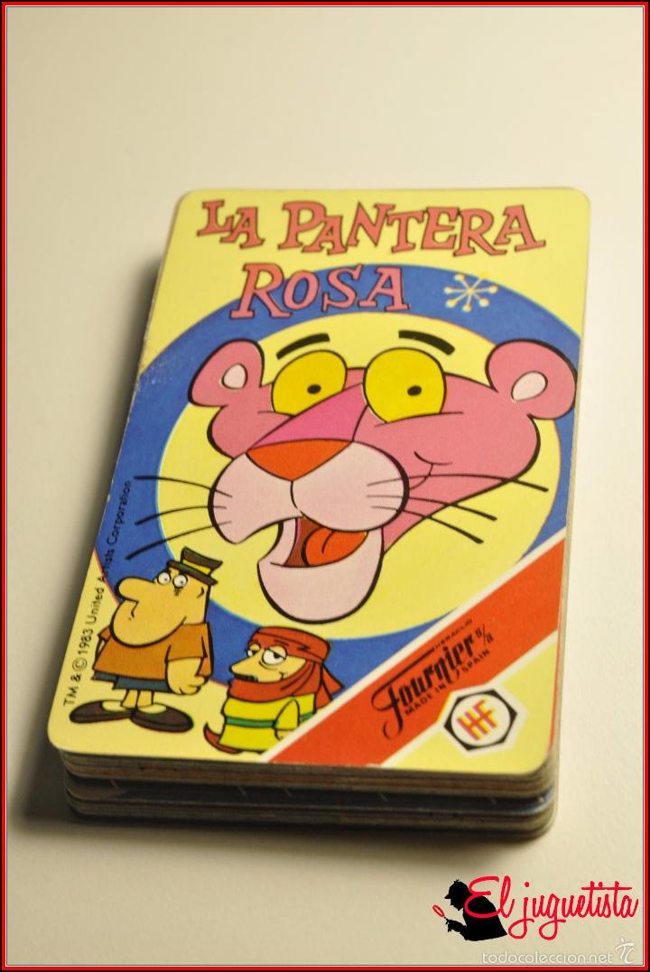 BARAJAS INFANTILES - FOURNIER 1983 - BARAJA LA PANTERA ROSA (Juguetes y Juegos - Cartas y Naipes - Barajas Infantiles)