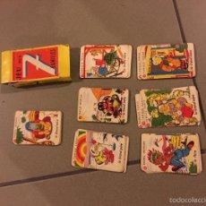 Barajas de cartas: JUEGO DE 7 FAMILIAS. Lote 61242935