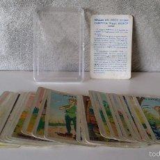 Barajas de cartas: BARAJA JUEGO DE LAS FAMILIAS WALT DISNEY. Lote 61278279