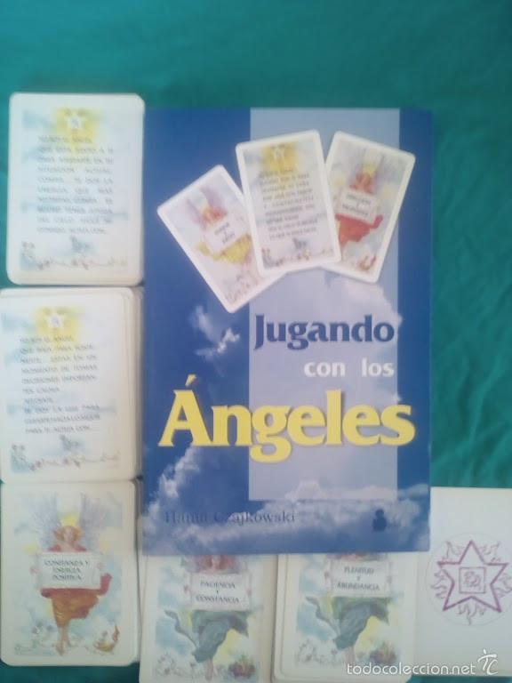 CARTAS TAROT. JUGANDO CON LOS ÁNGELES. LIBRO + 2 BARAJAS (Juguetes y Juegos - Cartas y Naipes - Barajas Tarot)