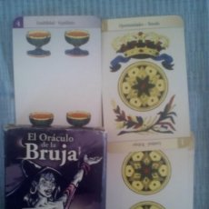 Barajas de cartas: CARTAS DE ADIVINACION EL ORACULO DE LA BRUJA. Lote 125309400