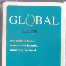 Barajas de cartas: -56711 BARAJA AUTOBUSES GLOBAL, NAIPES COMAS, ESPAÑOLA, PUBLICITARIA. Lote 61452223