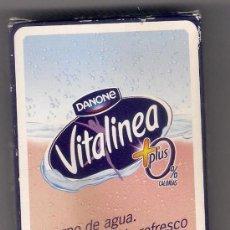 Barajas de cartas: -50932 BARAJA PUBLICITARIA DANONE VITALINEA, NAIPES COMAS, ESPAÑOLA, 50 CARTAS. Lote 61452323