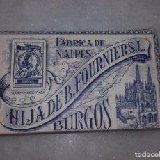 Barajas de cartas: BARAJA, HIJA DE B. FOURNIER, S. L. FABRICA DE NAIPES, BURGOS, FLORETE Nº 14.. Lote 61838720