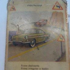 Barajas de cartas: BARAJA DE CARTAS DE SEÑALES DE TRÁFICO. Lote 61992760