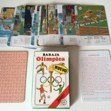 Barajas de cartas: ANTIGUA BARAJA INFANTIL OLÍMPICA FOURNIER 1988. Lote 180437493