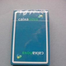 Barajas de cartas: BARAJA NAIPES PUBLICIDAD BANCO CAIXA NOVA FOURNIER NUEVA PRECINTADA. Lote 62106696