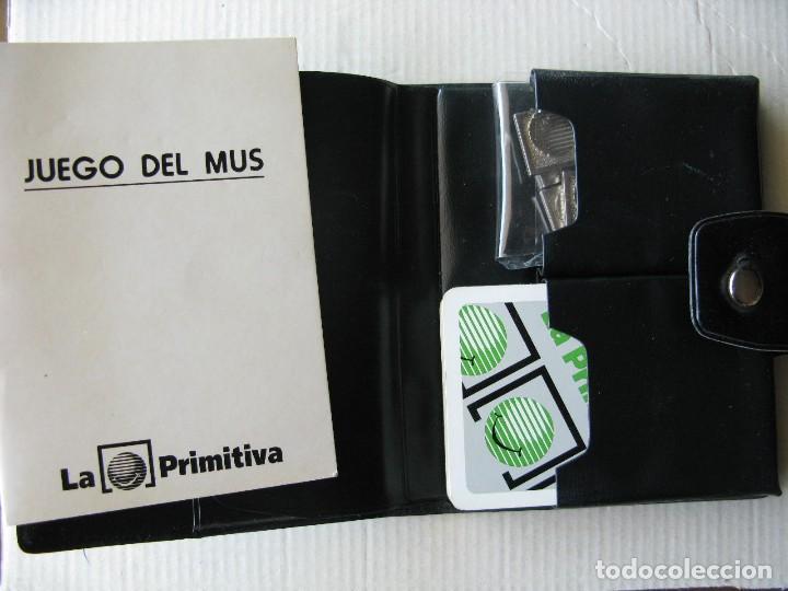 Barajas de cartas: JUEGO DE MUS. BARAJA Y AMARRACOS. LA PRIMITIVA. - Foto 2 - 62158668