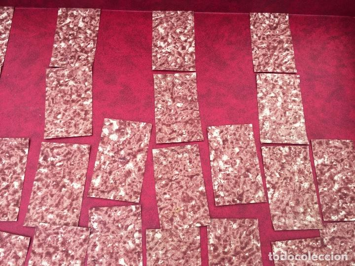 Barajas de cartas: BARAJA 40 NAIPES MUY RARA HEMISFERIOS CORONADOS PINILLOS DE VALLEJO 1845 - Foto 11 - 62615056