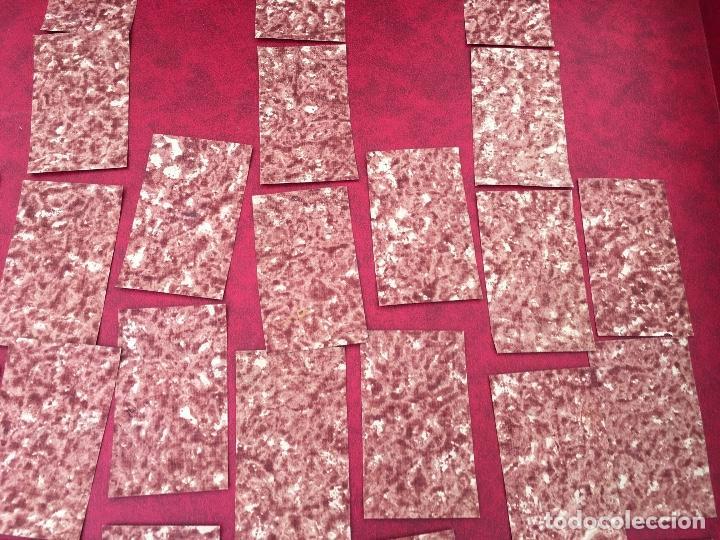 Barajas de cartas: BARAJA 40 NAIPES MUY RARA HEMISFERIOS CORONADOS PINILLOS DE VALLEJO 1845 - Foto 12 - 62615056