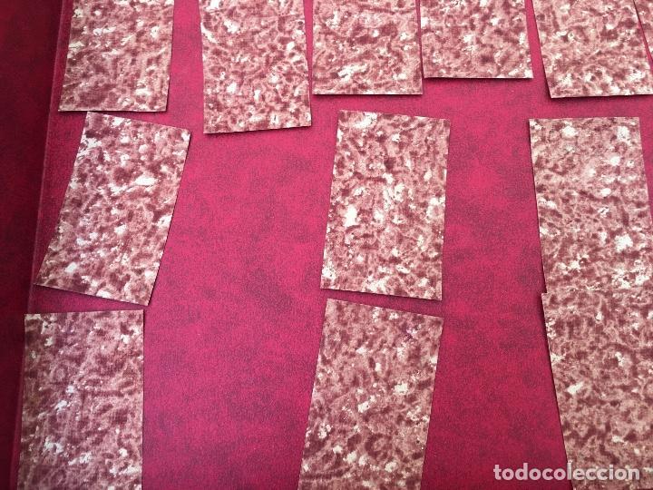 Barajas de cartas: BARAJA 40 NAIPES MUY RARA HEMISFERIOS CORONADOS PINILLOS DE VALLEJO 1845 - Foto 14 - 62615056