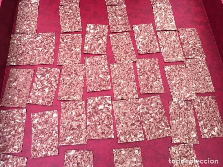 Barajas de cartas: BARAJA 40 NAIPES MUY RARA HEMISFERIOS CORONADOS PINILLOS DE VALLEJO 1845 - Foto 15 - 62615056