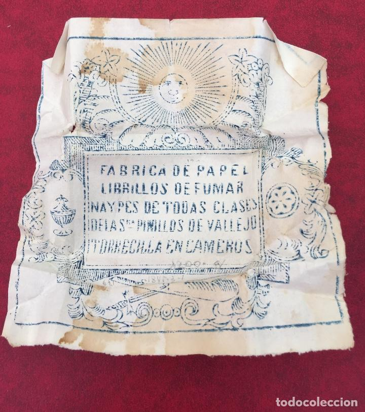 Barajas de cartas: BARAJA 40 NAIPES MUY RARA HEMISFERIOS CORONADOS PINILLOS DE VALLEJO 1845 - Foto 16 - 62615056