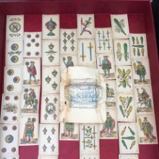 Barajas de cartas: BARAJA CARTA ESPAGNOLA 54 VAN GENECHTEN BÉLGICA 1896 40 NAIPES. Lote 62617492