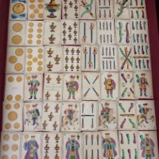 Barajas de cartas: BARAJA JOSÉ ARGENTE 40 NAIPES VALENCIA EL MEDALLÓN 1860. Lote 62618524