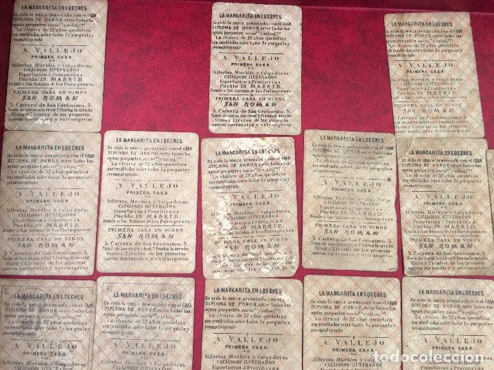 Barajas de cartas: BARAJAS POLÍTICOS PERIÓDICO LA BROMA 40 NAIPES 1875 - Foto 6 - 62619964