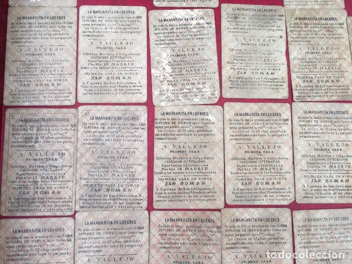 Barajas de cartas: BARAJAS POLÍTICOS PERIÓDICO LA BROMA 40 NAIPES 1875 - Foto 7 - 62619964