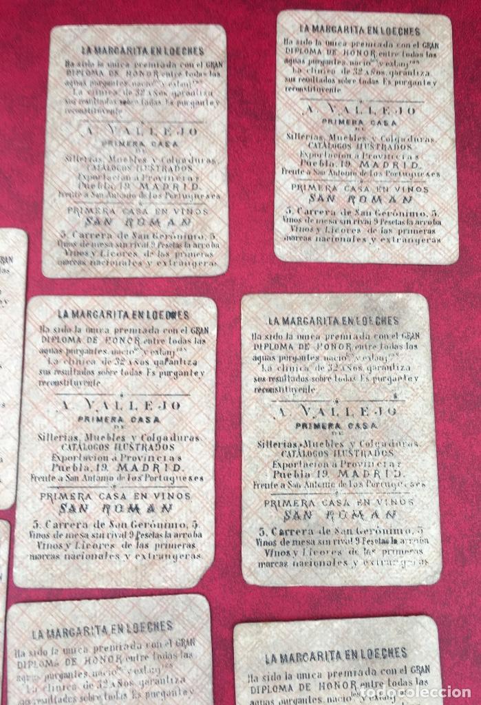 Barajas de cartas: BARAJAS POLÍTICOS PERIÓDICO LA BROMA 40 NAIPES 1875 - Foto 13 - 62619964