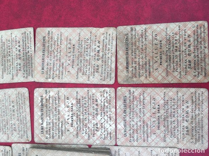 Barajas de cartas: BARAJAS POLÍTICOS PERIÓDICO LA BROMA 40 NAIPES 1875 - Foto 15 - 62619964