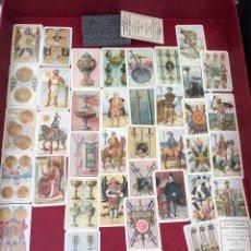 Barajas de cartas: BARAJA EXPOSICIÓN IBEROAMERICANA 40 NAIPES FOURNIER SEVILLA Y BARCELONA 1929 . Lote 62620456