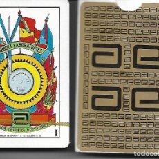 Barajas de cartas: BARAJA ABBOTT LABORATORIOS S.A. DIVISION PRODUCTOS HOSPITALARIOS, PRECINTADA Y EN ESTUCHE DE CARTON. Lote 62627312