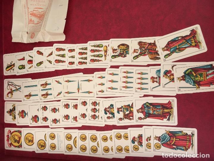 Barajas de cartas: BARAJA 48 NAIPES SIMEON DURA NÚMERO 25 CLASE ESPECIAL VALENCIA 1931 - Foto 3 - 62680292