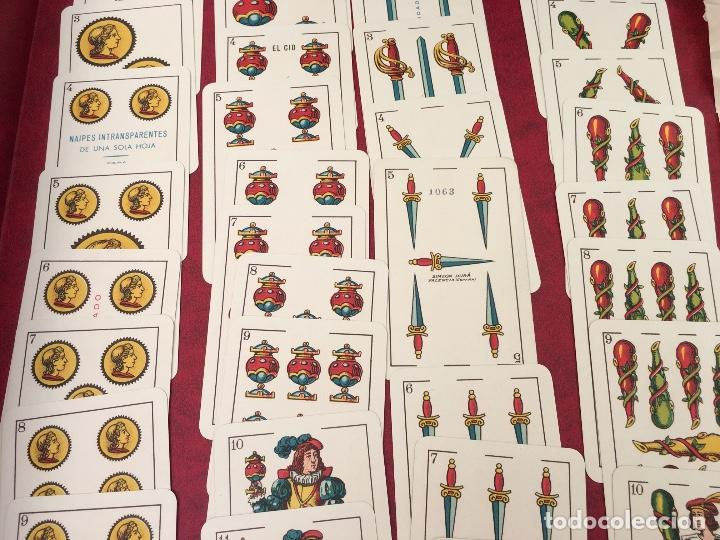 Barajas de cartas: BARAJA 48 NAIPES SIMEON DURA NÚMERO 25 CLASE ESPECIAL VALENCIA 1931 - Foto 5 - 62680292