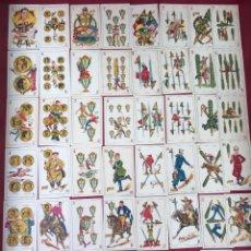 Barajas de cartas: BARAJA DE ESTRELLAS CINEMATOGRÁFICAS 48 CROMOS CHOCOLATES EVARISTO JUNCOSA 1920. Lote 62680764