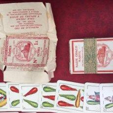 Barajas de cartas: BARAJA HERACLIO FOURNIER NACIONAL NÚMERO 1 E 1935 40 NAIPES. Lote 62681304