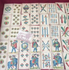 Barajas de cartas: BARAJA FABRICA BARCELONA 1885 48 NAIPES. Lote 62682220