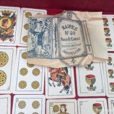 Barajas de cartas: BARAJA EL CIERVO NÚMERO 40 HIJA ANTONIO COMAS 1938 48 NAIPES . Lote 62684792