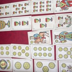 Barajas de cartas: BARAJA EL CABALLO CON SUDADERO GUARRO Y CIA 1907 48 NAIPES . Lote 62686004