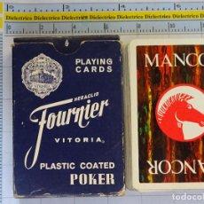 Barajas de cartas: BARAJA DE CARTAS ESPAÑOLA. FOURNIER. MANCOR CABALLO. ISLAS BALEARES ?. Lote 62785876