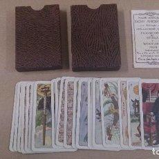 Barajas de cartas: BARAJA DE NAIPES HISTORICO IBERO AMERICANO 1929, HERACLIO FOURNIER. Lote 63376624