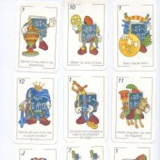 Barajas de cartas: BARAJA ESPAÑOLA DE ADIVINANZAS, REFRANES, FRASES HECHAS ............... Lote 90479723