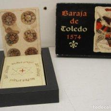 Barajas de cartas: BARAJA DE TOLEDO 1574 REPRODUCCIÓN DE NAIPES COMAS 2002. Lote 63417060