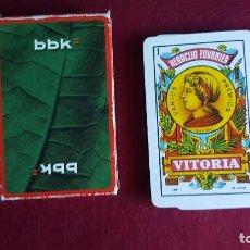 Barajas de cartas: BARAJA BBK. Lote 63568304