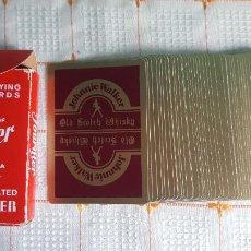 Baralhos de cartas: BARAJA POKER FUORNIER PUBLICIDAD JOHNNIE WALKER . Lote 63573136