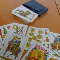 Barajas de cartas: BARAJA HERACLIO FOURNIER Nº1. E .VITORIA 50 CARTAS -NAIPE OPACO MARFIL- FILO DORADO- FUNDA- 1,25. Lote 63627507