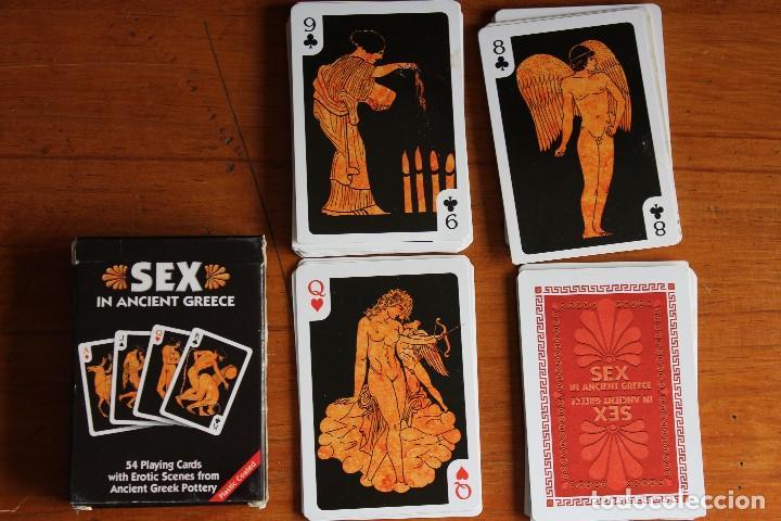 Baraja De Poker Sex Of Ancient Greece Completa - Verkauft -5579