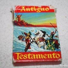 Barajas de cartas: BARAJA EL ANTIGUO TESTAMENTO 1969 FOURNIER COMPLETA. Lote 63771607