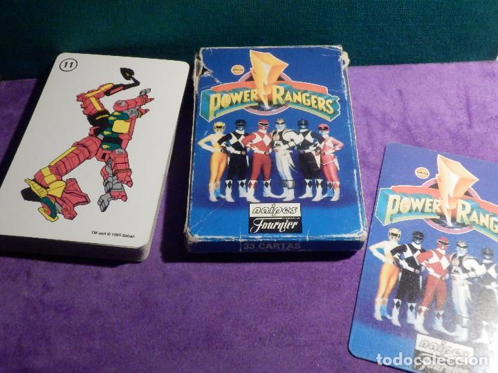 Baraja Infantil Juego De Cartas Para Ninos Fournier Power Rangers Completa