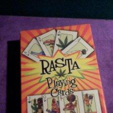 Barajas de cartas: BARAJA DE CARTAS - RASTA PLAYING CARDS - SIN USO -. Lote 63990147