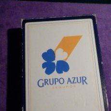 Barajas de cartas: BARAJA DE CARTAS - FOURNIER - SEGUROS GRUPO AZUR - CON PRECINTO, AUNQUE ROTO -. Lote 63993179